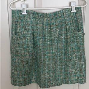J. Crew Factory Tweed Skirt